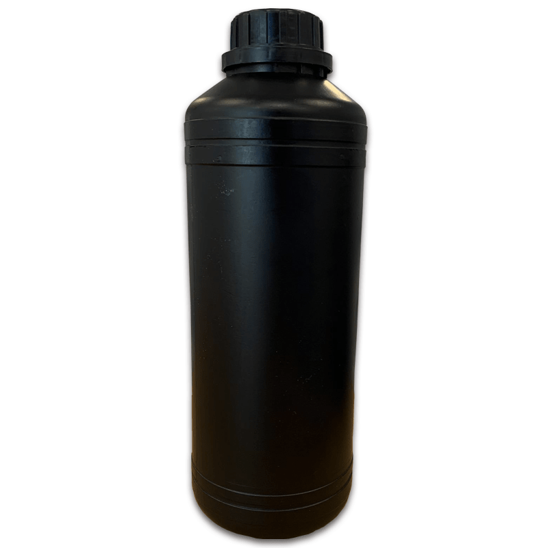 butelka hdpe 1 litr CZARNA