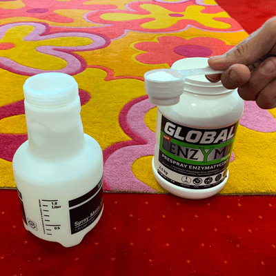 prespray enzym global